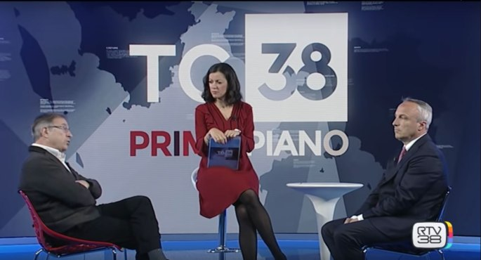 Candidato Firenze+Verde Sergio Gatteschi ospite a RTV38 29/apr/2019