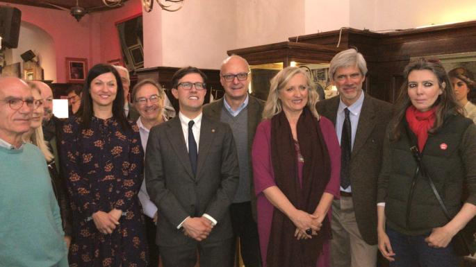 Candidati Firenze+Vedre 2019 con Nardella